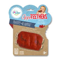 AppeTEETHERS are patented teething toys made of silicone. Designed with safety�