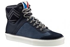 Louis Vuitton presents a new high rise sneaker for Fall/Winter 2012