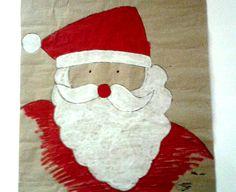 Alba Damunt nos envía este maravillo Papa Nöel que decora su casa estas navidades, nos gusta un montón! Playcolor, navidad, christmas, color, dibujo