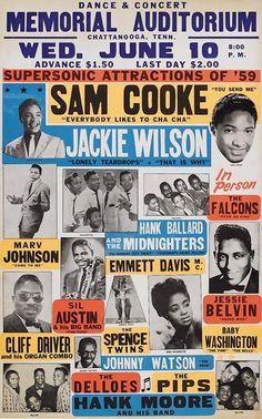 Sam Cook...Jackie Wilson