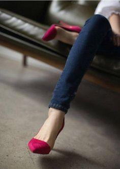 pink heels #shoelover