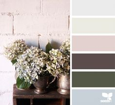 Design Seeds celebrate colors found in nature and the aesthetic of purposeful living. Paint Color Schemes, Colour Pallete, Color Combos, Neutral Palette, Color Palettes, Paleta Pantone, Color Palette Challenge, Color Balance, Design Seeds