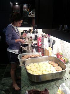 Making Moussaka