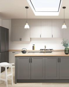 Kitchen Pantry Design, Modern Kitchen Design, Home Decor Kitchen, Interior Design Kitchen, Contemporary Kitchen Designs, Kitchen Design Scandinavian, Modern Contemporary, Kitchen Design Gallery, Ikea Kitchen Remodel