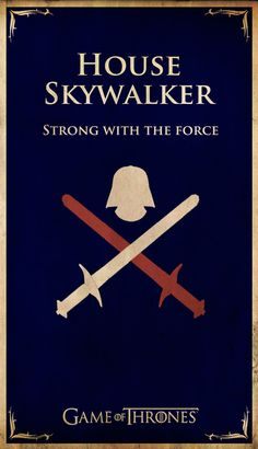 Game of Thrones House Flags with a Pop Culture Twist
