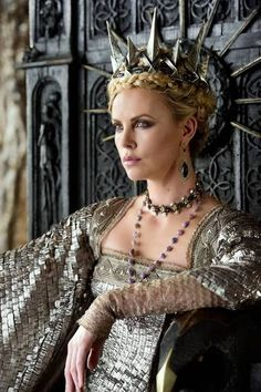 "Charlize Theron stars in ""Snow White and the Huntsman,"" for which Colleen Atwood designed costumes."