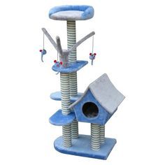 www.target.com p cat-life-deluxe-cottage-w-lounging-tower-from-penn-plax - A-15740414