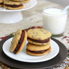 Chocolate Chip Whoopie Pies by Tracey's Culinary Adventures, via Flickr