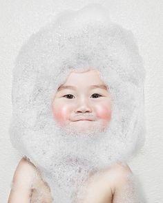 Little bubble boy.