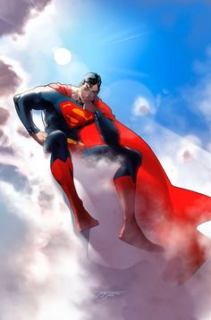 Superman pinup from Action Comics by Jorge Jimenez Marvel Dc Comics, Comics Anime, Dc Comics Art, Superman Comic, Mundo Superman, Black Superman, Batman Vs, Superman Anime, Superman Poster