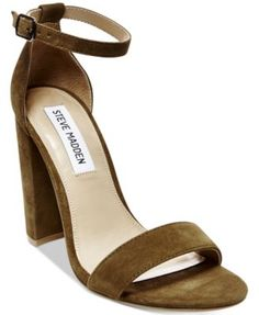 37b438cd4d3458 Steve Madden Women s Carrson Ankle-Strap Dress Sandals Ankle Strap Shoes