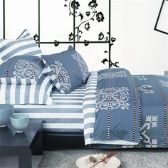 North Home Bedding Reverie DC QN Size Duvet Cover Set