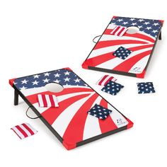 Get this EastPoint Sports Americana Cornhole Set for only $49.96 after a price drop from $59.97 at Walmart. You save 17% off the retail price for this cornhole set. Plus, this item ships free. Deal may expire soon. Bag Toss Game, Bags Game, Bean Bag Store, Bean Bag Games, Tailgate Games, Outdoor Bean Bag, Cornhole Game Sets, Corn Hole Game, Bud Light
