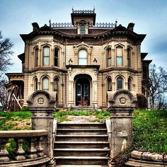 abandoned historic mansion