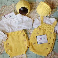 Hoy....amarillo con blusitas blancas de plumeti!!! #hechoamano #hechoporencargo #dosagujastt .