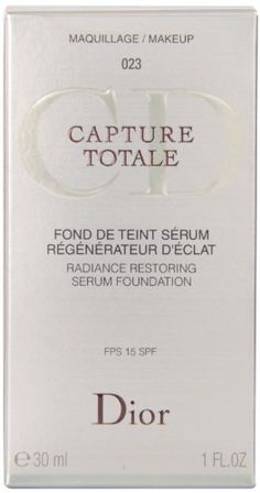 DIOR CAPTURE TOTALE fond de teint serum No 023 30ml - http://best-anti-aging-products.co.uk/product/dior-capture-totale-fond-de-teint-serum-no-023-30ml/