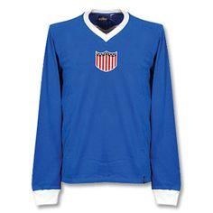 76a0f1a5d Copa 1934 USA L S Retro Shirt 1934 USA L S Retro Shirt http. Football ShirtsUk  FootballSoccer ...