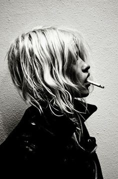 rackk and ruin: DAMON BAKER | biker | leather jacket | smoke | smoking hot | fashion editorial