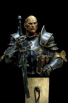 Warhammer Paint, Warhammer 40k, Figure Model, Scale Model, Fantasy Model, Fantasy Fiction, Metalhead, Figure Painting, Figurative Art