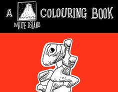 apres dubuffet a colouring book