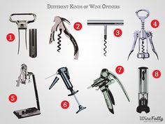 Which of these wine openers do you own or have tried?