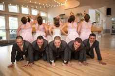 What a great picture! A must have at any wedding! The Chateaux at Fox Meadows   Booze Photography  
