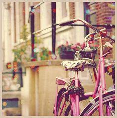 pink bike - dreamy!