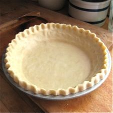 """One step closer to saying yes in response to the pie question in """"Anything You Can Do."""" -- Classic Single Pie Crust: King Arthur Flour"""