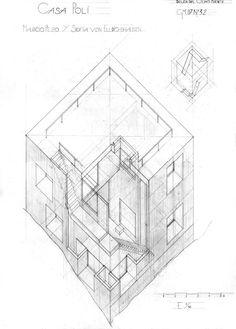 Casa Poli Uni, Architecture Design, Decorative Boxes, Design Inspiration, Abstract, Wallpaper, Building, House, Home Decor