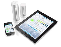 netatmo personal weather station and air quality monitor