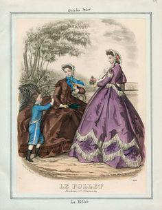 October, 1864 - Le Follet