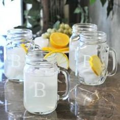 I love these old fashioned drinking jars, they would be perfect for my green juices and smoothies.