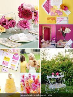 Marry You Me: Inspiration Board - Garden Party Wedding