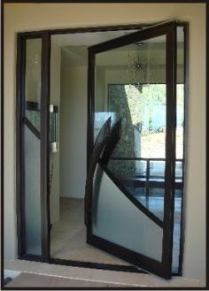pivot doors from rustic elegance - Modern Glass Exterior Doors