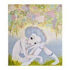 Autorský plakát od Lény Brauner Luční, 54 x 60 cm Amai, Origami, Snoopy, Teddy Bear, Anime, Fictional Characters, Paintings, Illustrations, Handicraft