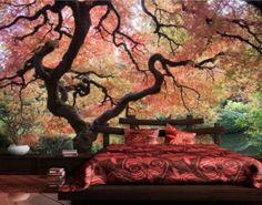 Selbstklebende Tapete - Fototapete Wald Japanischer Garten https://www.plus.de/p-1586950000?RefID=SOC_pn