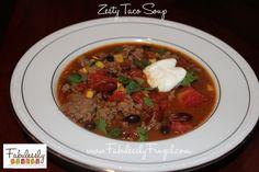 Zesty Taco Soup.