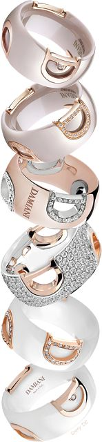 Brilliant Luxury * Damiani 'Icon' Rings