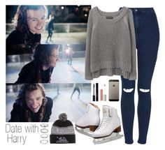 """""""Date with Harry."""" by directioneruruguaya ❤ liked on Polyvore featuring Topshop, rag & bone/JEAN, Ilia and Forever 21"""