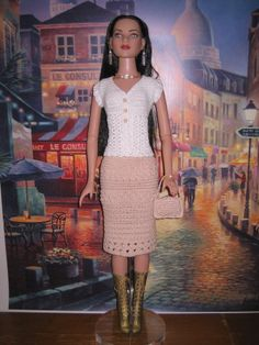Crochet Pattern For 22 American Model Dolls by FatCatDesignsMinis, $7.99