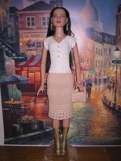 Crochet Pattern For 22 American Model Dolls by FatCatDesignsMinis, $7.99