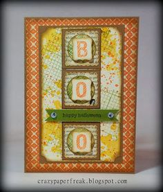 Stampin' Up! Halloween card created by Melissa @ crazypaperfreak.blogspot.com