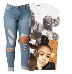 """""""6.23.16"""" by lookatimani ❤ liked on Polyvore featuring Nadri, MCM, Birkenstock and Gucci"""
