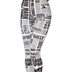 Daily Prophet HWMF Leggings ($85) ❤ liked on Polyvore featuring pants, leggings, highwaist pants, high-waisted pants, high-waisted trousers, high rise pants and legging pants