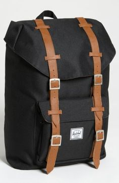 23cb29a929c Herschel Supply Co. Little America - Mid Volume Backpack - Black Men  Fashion and male Style