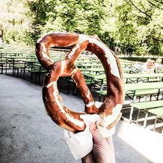 And of course the 😊 in Munich, Pretzel, Tasty, Seasons, Outdoor Decor, Instagram Posts, Seasons Of The Year, Monaco