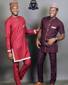 African Wear Styles For Men, African Dresses Men, African Attire For Men, African Clothing For Men, African Shirts, African Inspired Fashion, African Print Fashion, Africa Fashion, Kaftan