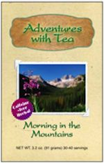 """Kaleidoscope of T.E.A. Kaleidoscope group memberMarlys Arnold & her husband, Alan, both of Adventures with Tea share some magic we call""""Kaleidoscope of T.E.A."""" It's a special blend of mymonthly forecastbrew, steeped in T.E.A. (Thoughts, Energy & Actions), paired with a tea recommended by the Arnolds ... one that represents the energy of the month, plus the adventures & experiences brought to mind. Our Kaleidoscope of T.E.A. for January is Morning in the Mountai"""