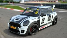 A render of Henry Duprey's JCW - photos of the Lohen-built finished article to follow soon!   www.lohen.co.uk