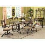 Acme Furniture - Keile 8 Piece Rectangular Dining Table Set - 71125-32-8SET